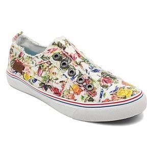 Blowfish Malibu Floral Slip on Sneaker Size 8.5